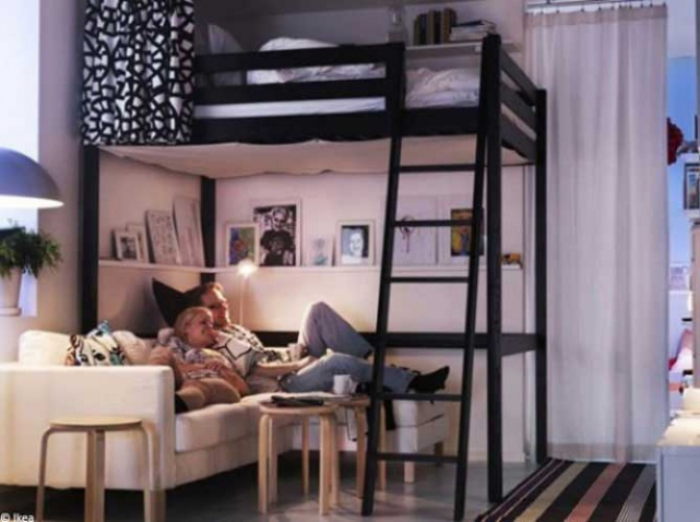 comment am nager un petit appartement une mini surface communiqu ilak. Black Bedroom Furniture Sets. Home Design Ideas